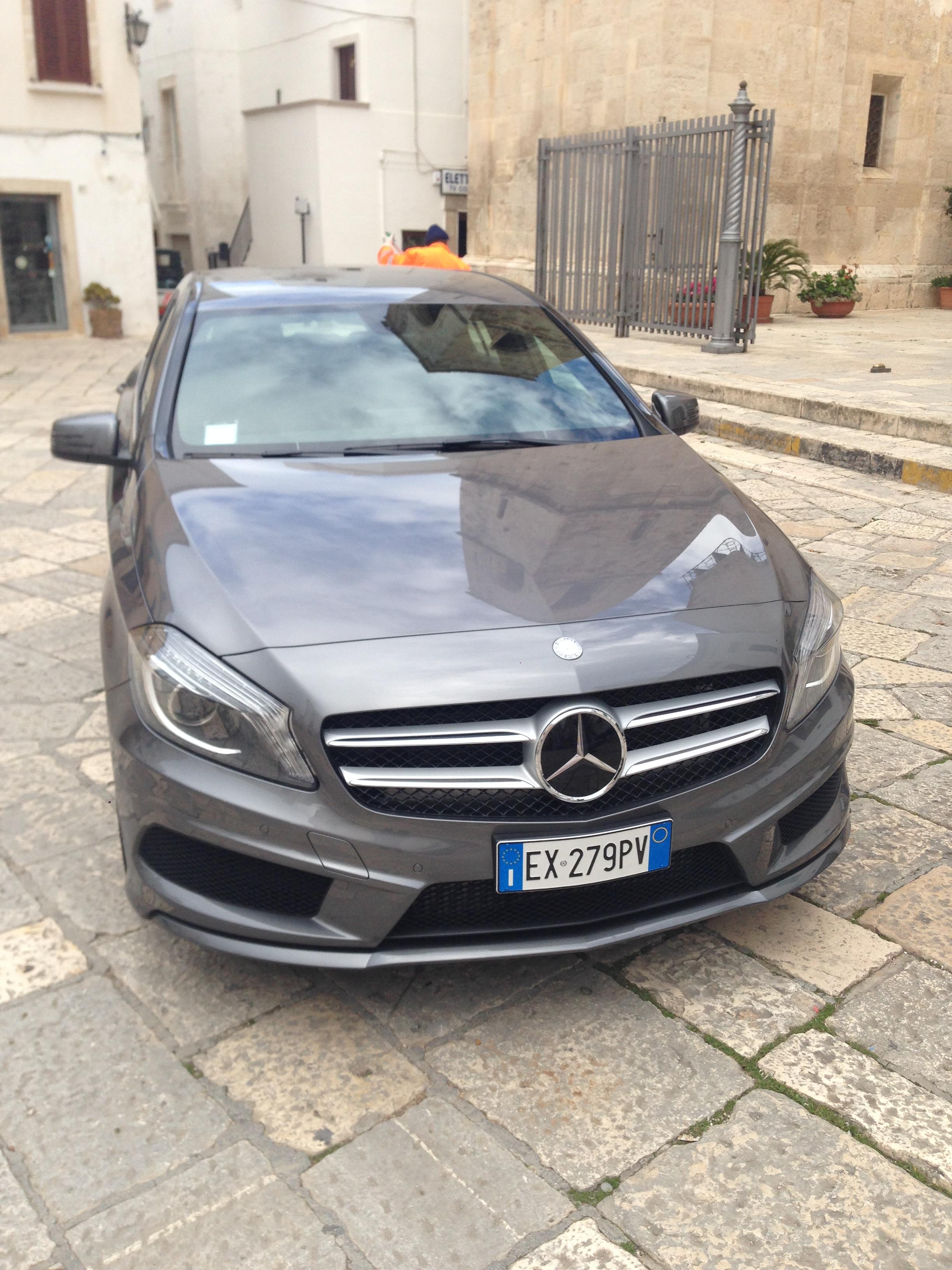 Mercedes classe A versione AMG Manuale